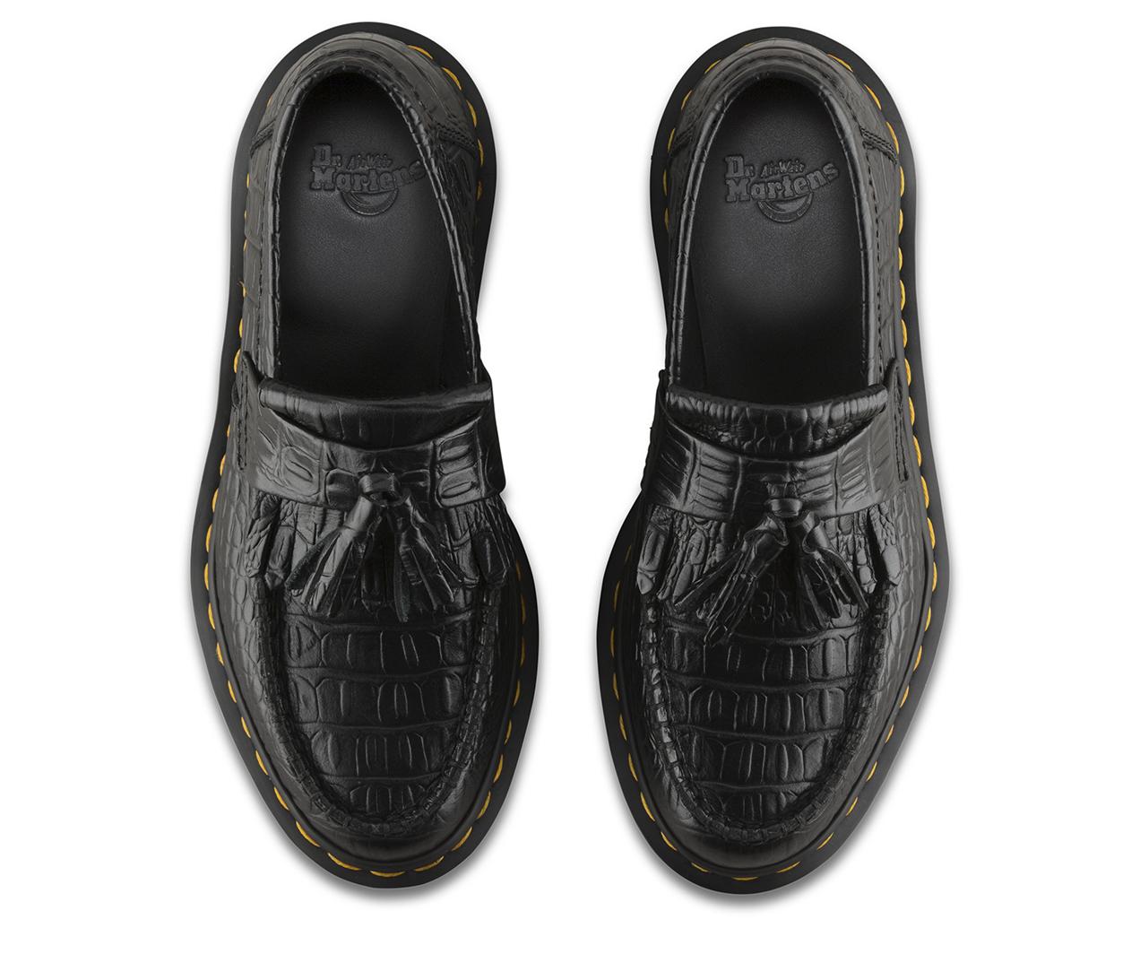 Adrian CROC New Vibrance Croco 黑色 22762001