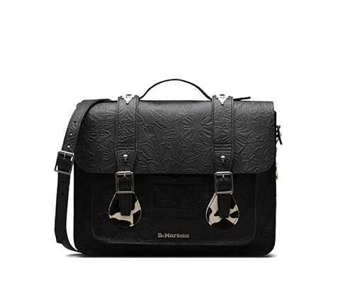 Rockabilly Satchel  黑色 AB080002