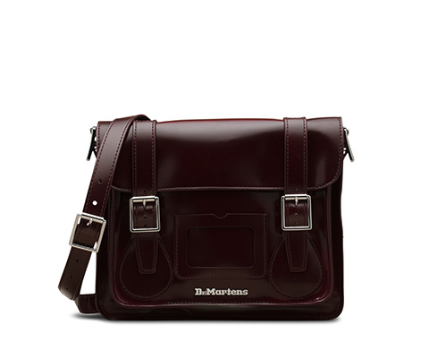 Vegan Satchel 樱桃红  AB092601