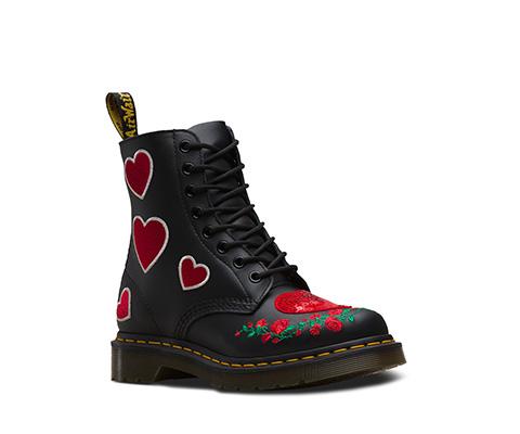 1460 Pascal Hearts  黑色 24406001